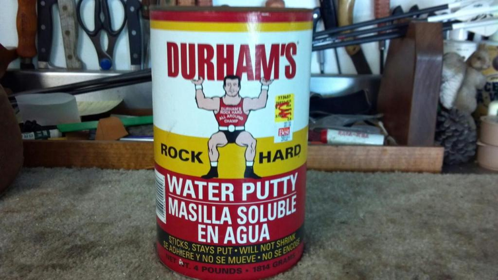 Durhams Water putty